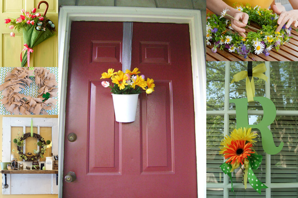 Amazing Spring Front Door Decoration Idea 600 x 399 · 126 kB · jpeg