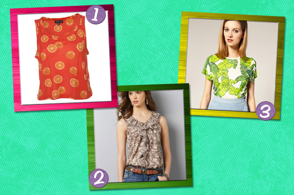 Spice up your wardrobe with prints