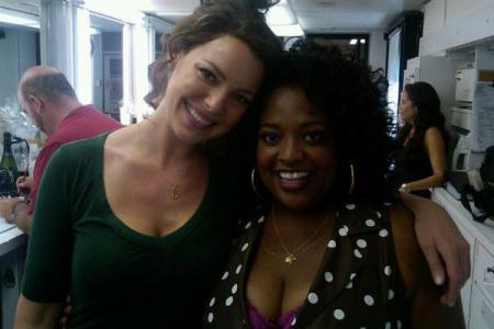 One for the Money's Stephanie (Katherine Heigl) and Lula (Sherrie Shepherd)