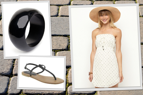 Clothes and accessories to wear to a patio party