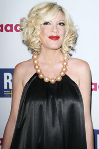 Tori Spelling's party details