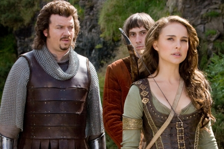 Danny McBride and Natalie Portman in Your Highness