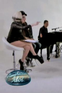 Lady Gaga on American Idol