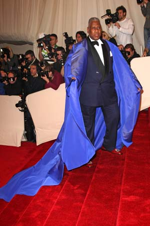 Andre Leon Talley 2011 MET Gala