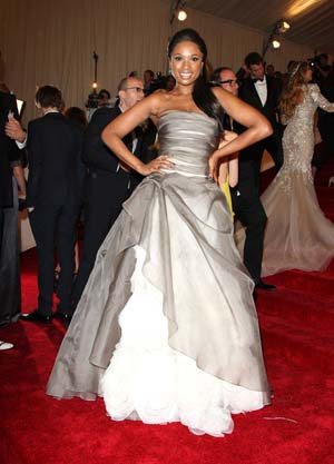 Jennifer Hudson 2011 MET Gala