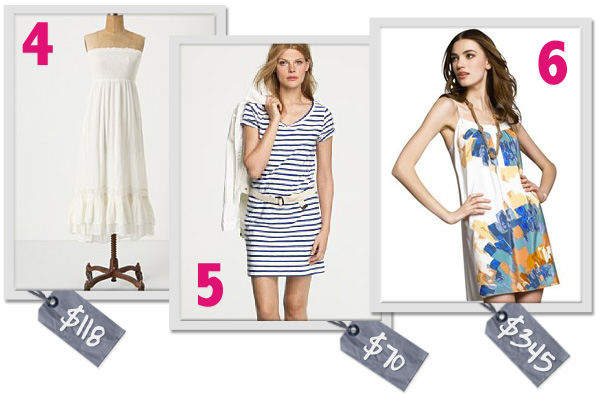 Easy summer dresses