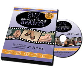 Bring it Home Beauty DVD with nail care tips