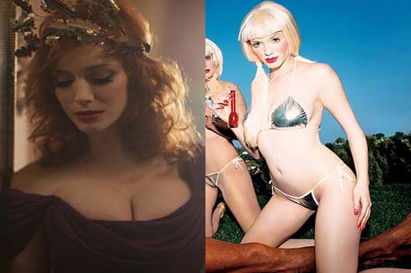 Christina Hendricks' breasts: real or fake