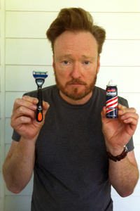 Conan O'Brien beard