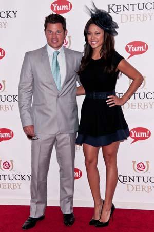 Vanessa Manillo and Nick Lachey 2011 Kentucky Derby
