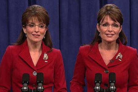 Can you tell which one is Tina Fey and which one's the real Palin?
