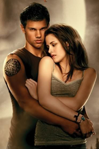 Jacob and Bella from Twilight