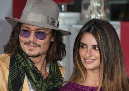 Johnny Depp Penelope Cruz
