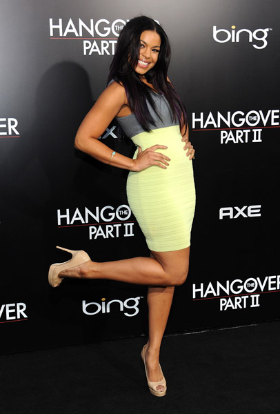 Jodrin Sparks The Hangover 2 premiere