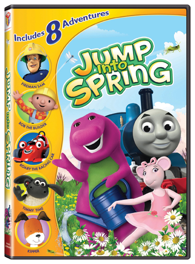 Jump Into Spring Dvd Set