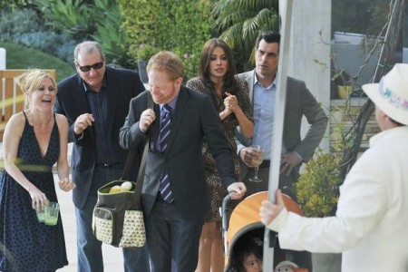 The Pritchetts laugh at Cam's expense on Modern Family: See You Next Fall on May 18