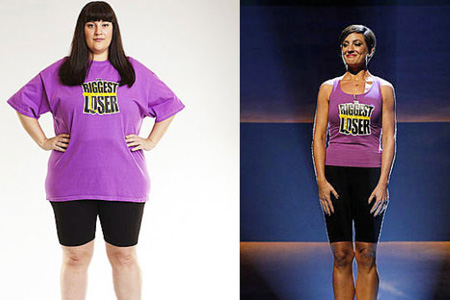 Biggest Loser olivia ward before and after
