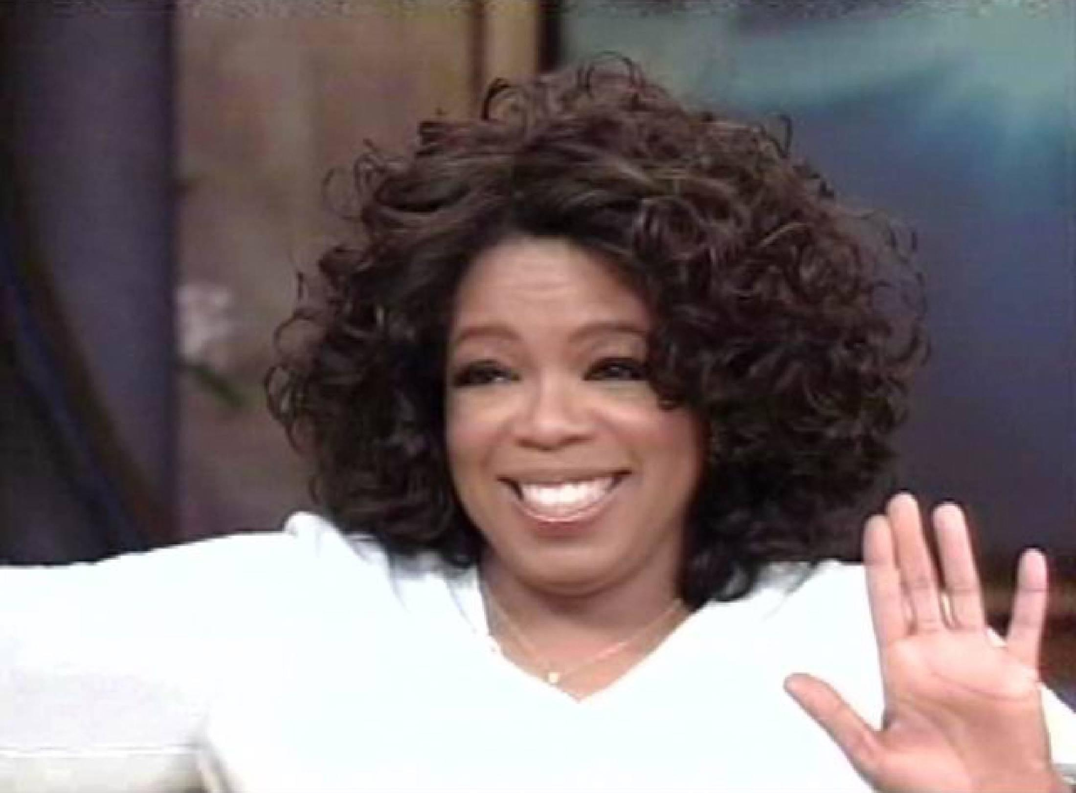 Oprah Winfrey on the Oprah Winfrey Show 2005