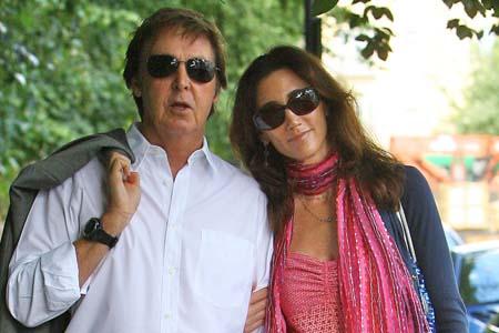 Sir Paul McCartney is engaged!