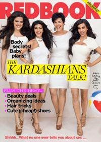 Khloe Kardashian in Redbook