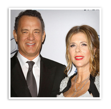 tom hanks wife rita wilson. 4 Rita Wilson and Tom Hanks