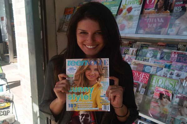 90210 star Shenae Grimes interning at Teen Vogue this summer