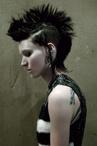 rooney mara as lisbeth salander