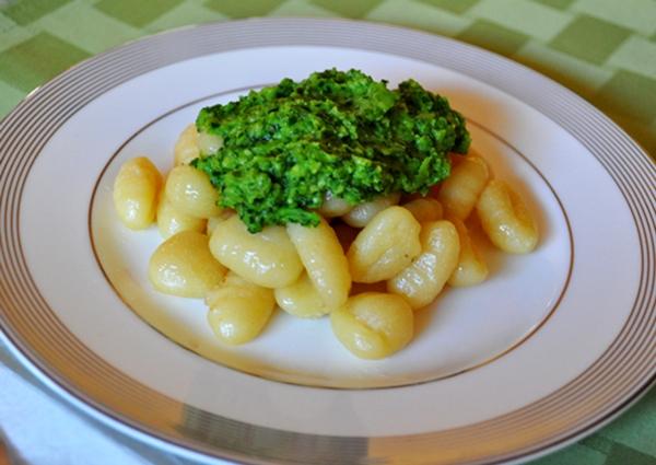 Pesto made from...peas?
