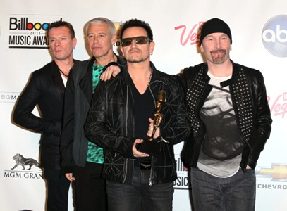 U2 confirmed for AI