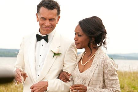 Angela Bassett stars in Jumping the Broom