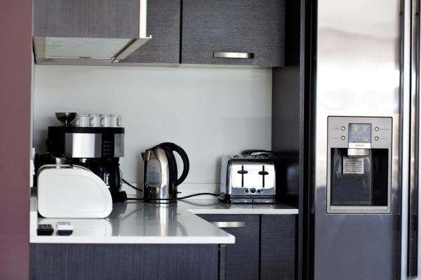 Cool and functional kitchen appliances.