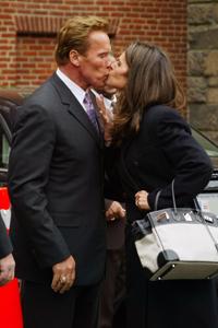 Schwarzenegger & Shriver separate