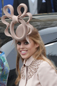 Princess Beatrice hat = Big money