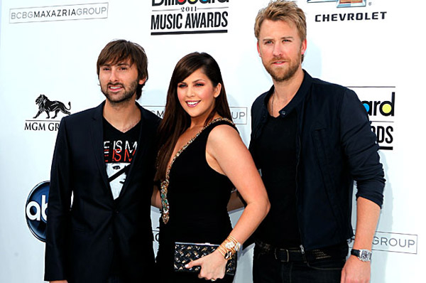 Lady Antebellum at the 2011 Billboard Music Awards