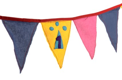 birthday flag banner