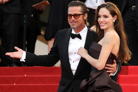 Brad Pitt and Angelina Jolie in Cannes