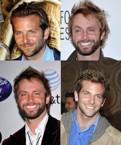 Bradley Cooper and American Idol's Paul McDonald