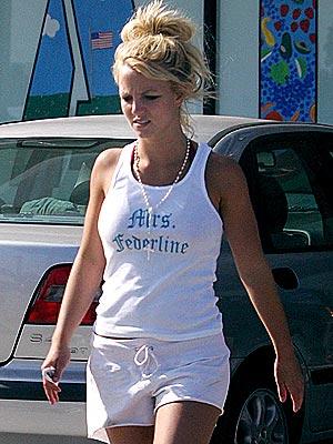 Britney Spears: Kevin Federline tank top
