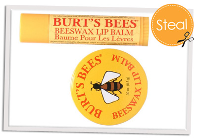 Fresh Sugar Lip Treatment and Burt's Bees