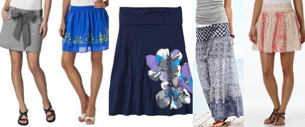 summer fashion, cheap skirts, bargain fashion, cute summer skirts