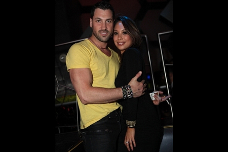 Maksim and Cheryl Burke
