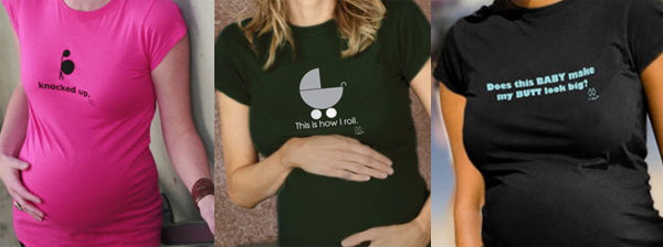 edgy maternity t shirts