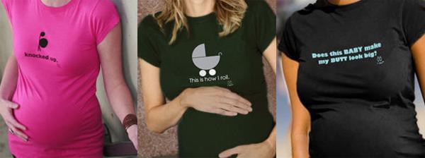 edgy maternity t shirts