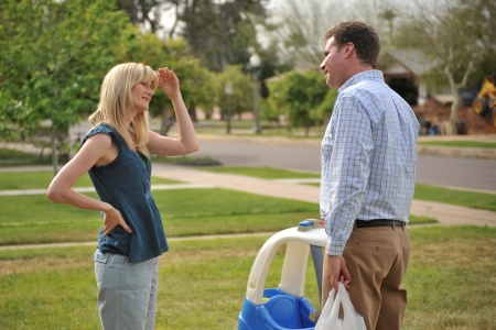 Laura Dern and Will Ferrell in Everything Must Go