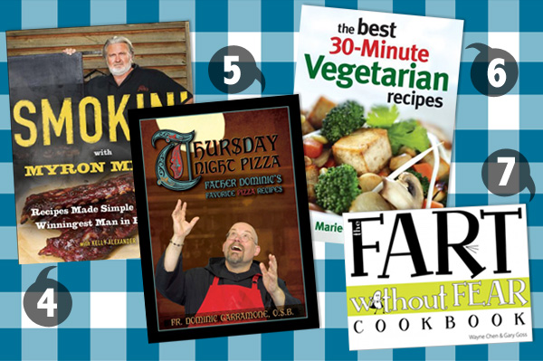 Cookbooks for Father's Day