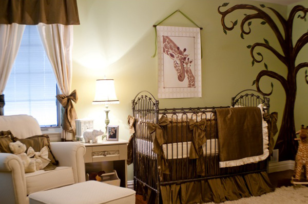 Decorating a gender neutral nursery - Baby nursery neutral colors ...