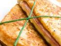 Gluten-Free Ham Swiss and Spinach Sandwich