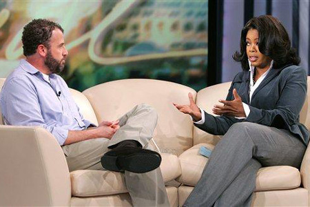 James Frey on Oprah