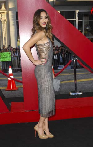Jamie Chung at The Hangover 2 premiere