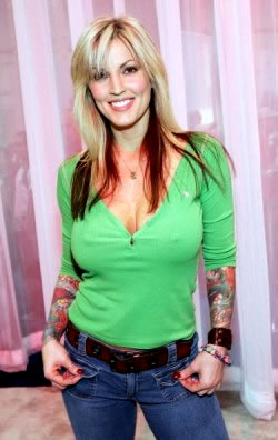 Janine Lindemulder, ex-wife to Jesse James